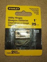 "Stanley Utility Hionge 1"" 80-2000 Satin Brass T... - $1.42"