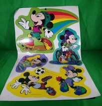 VINTAGE MICKEY & FRIENDS 7 PIECE DECORATING KIT SPORTS EUREKA ORIGINAL P... - $4.90