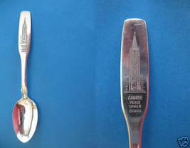 Ottawa Ontario Souvenir Collector Spoon Peace Tower Collectible Vintage Canada - $5.95