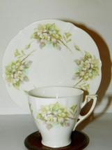 Lovely Weimar Germany Demitass Cup & Saucer Helleborus Flower Christmas Rose? - $9.49