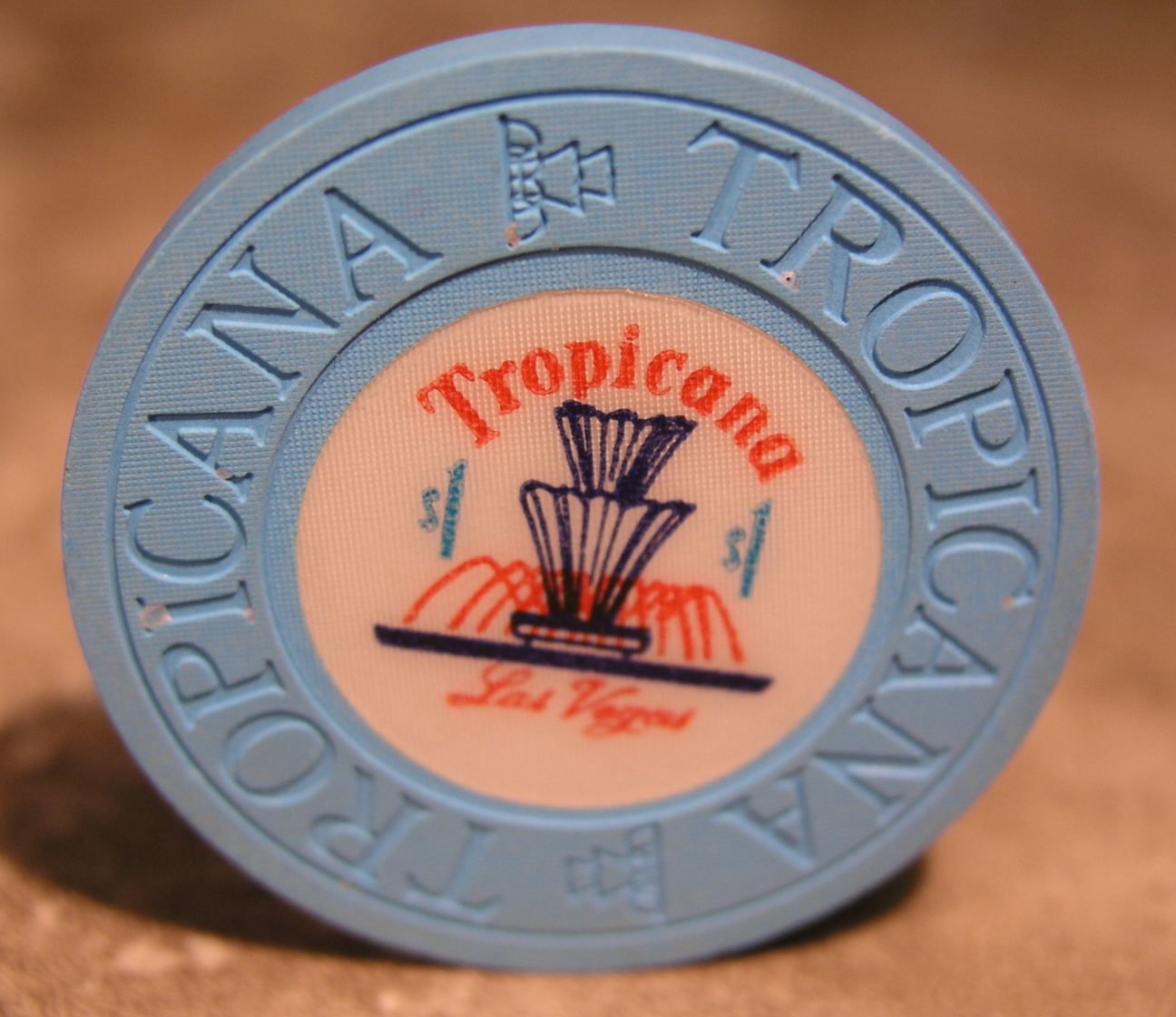 "Primary image for $1.00 Casino Chip From: ""Tropicana Hotel & Casino""- (sku#2454)"