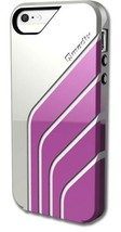 Sleek QMadix Crave Snap-On Case Cover Shell for the New iPhone 5 - White... - $17.99