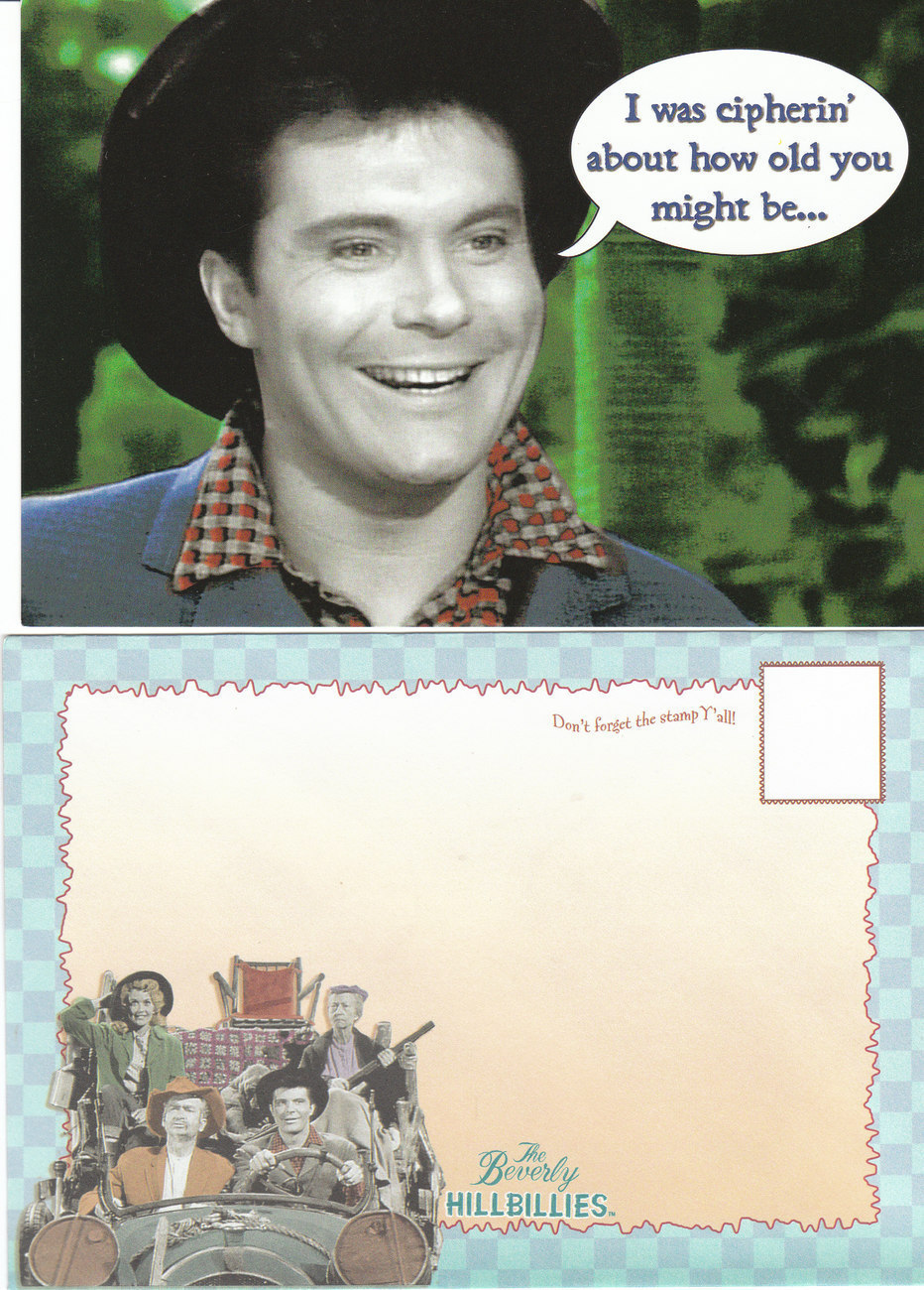 Primary image for Beverly Hillbillies Greeting Card - BIRTHDAY