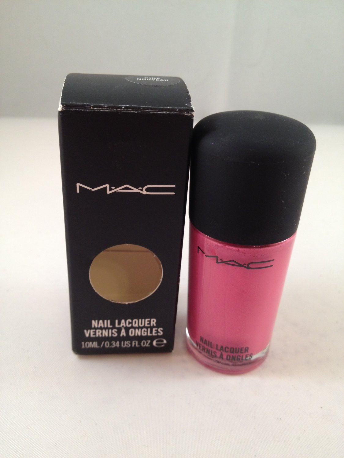MAC Cosmetics Nail Lacquer Color Polish Pink and 50 similar items