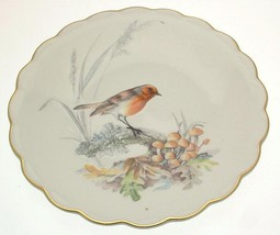 Royal Worcester The Birds of Dorothy Doughty Cock Robin in the Autumn Woods - $154.01
