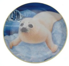 Franklin Mint Whats Up Pup Seal Pup plate by Wepplo - CP1768 - $32.05