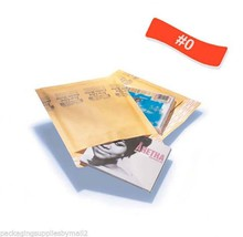 4500 #0 Kraft Bubble Mailers 6.5x10 Padded Envelopes Shipping Bags Self ... - $481.94