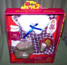 """Our Generation WRAPPED with a BOW Outfit for Most 18"""" Doll New - $13.88"""
