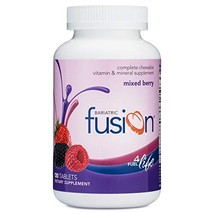 Bariatric Fusion Mixed Berry Complete Chewable Bariatric Multivitamin For Bariat