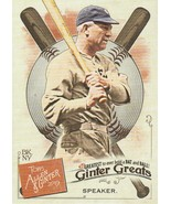 2019 Topps Allen and Ginter Ginter Greats #GG43 Tris Speaker  - $0.50