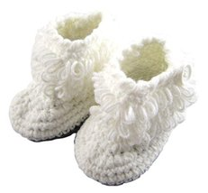 Baby Infant Handmade Crochet Shoes Knit Sock Newborn Gift 10-12CM Fashion