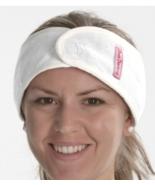 Aquis Diva Darling Headband - Microfiber - WHITE - $4.00