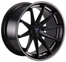 "22"" Rohana Wheel Rc10 22x9 22x10.5 Matte Black Fit 2011 Ford Mustang 5x114.3 - $2,069.10"