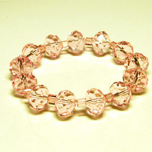 Pink Crystal Stretch Bracelet - $14.95
