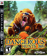 Cabela's Dangerous Hunts 2009 - PS3 - $8.00