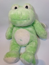 "Wishpets Plush Frog CHAI Green Pluffy Bean Bag Stuffed Animal RARE 10"" S... - $29.99"
