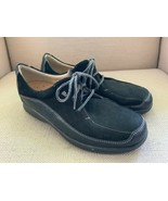 Finn Comfort Acapulco Black Leather Oxfords UK 6.5 US 9 - $46.43
