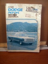 Shop Manual Clymer Dodge Pickups 1971-1980 (1981, Paperback) - $8.99