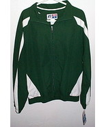 Mens NWT Team Issue Green White Jacket Size Small - $12.95