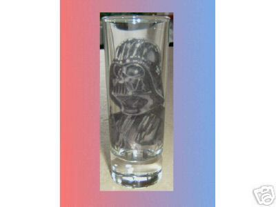 STAR WARS Darth Vader VODKA SHOT GLASS