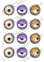 graphic relating to Minion Printable Cutouts called Minions Printable Cutouts approx. 2\