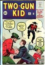 Two-Gun Kid #62 1963-Marvel-Jack Kirby-VG - $181.88