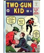 Two-Gun Kid #62 1963-Marvel-Jack Kirby-VG - $181.88