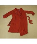 IC Winters Womens Bathrobe Size Medium Red Poly... - $15.93