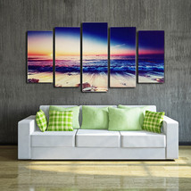 BANMU HD Modern Landscape Wall Art Canvas Print Seascape - $35.95