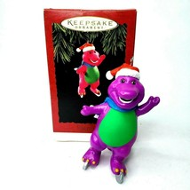 HALLMARK Keepsake 1994 BARNEY The Purple Dinosaur CHRISTMAS ORNAMENT Vin... - $19.99