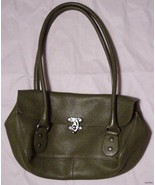 Beautiful Kelly Green Cynthia Rowley Purse Smal... - $28.71