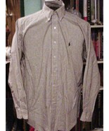 Nice Ralph Lauren Mens Shirt 100% Cotton L/S Si... - $15.00