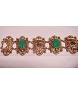 Elegant Vintage Unsigned Bracelet Art Deco Scar... - $59.95