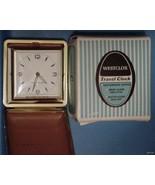 Vintage WESTCLOX Travel Clock Shatterproof Crys... - $29.65