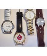lot of 4 Vintage Mens Wristwatches Lorus Lumibr... - $49.45