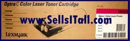 Brand NEW Genuine Lexmark 1361212 Magenta Toner Cartridge - $20.95