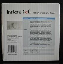 Genuine Instant Pot Yogurt Maker Cups Includes 1 Rack 5 Yogurt Cups  - $9.95