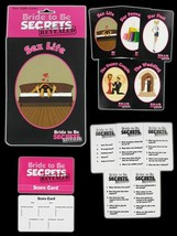 Bride To Be Secrets Revealed, Hen Night Party Essential Accessory - $4.53