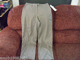 Liz Claiborne Black & White Villager Pants Size 10 Women's NEW - $21.84