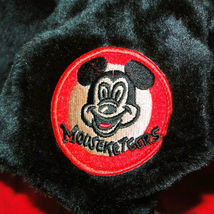 Disney Parks Mickey Mouse Snood Hat Cap & Gloves Attached image 5