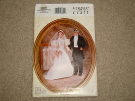 Vogue Pattern Craft 664 for 11.5 size dolls Un-Cut Pre-owned - $10.00