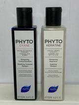Lot Phyto Paris Plumping Shampoo Thermoperfect Revitalizing Serum Repairing image 7