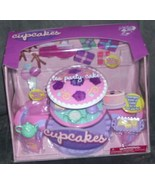 CUPCAKES * ELECTRONIC TEA PARTY CAKE * Playset NEW!  - $29.96