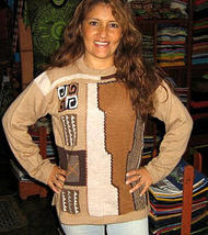 Woolen sweater,pure Alpacawool, round neck  - $98.00