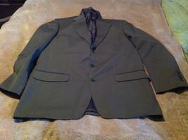 Men's Jones New York Sport Coat Blazer Size 40R Brown Excellent - $34.58