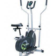 Elliptical Bike Machine Trainers Exercise Fitness Equipment Treadmill Wo... - $193.04