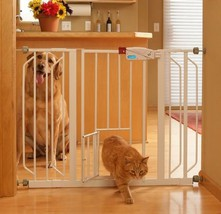 Home Doorway Child Safety Gate Lock Kids Protection Wide Pet Entrance New! - $72.45
