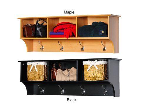 Doorway Coat Rack Cubbie Mudroom Furniture Outerwear Storage Handbag Shelf New - $127.67