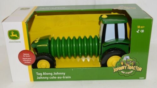John Deere LP64407 Tag Along Music Playing Johnny Tractor