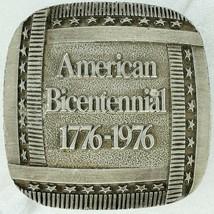 Bergamot Brass Works Vintage 1976 American Bicentennial Belt Buckle - $19.34